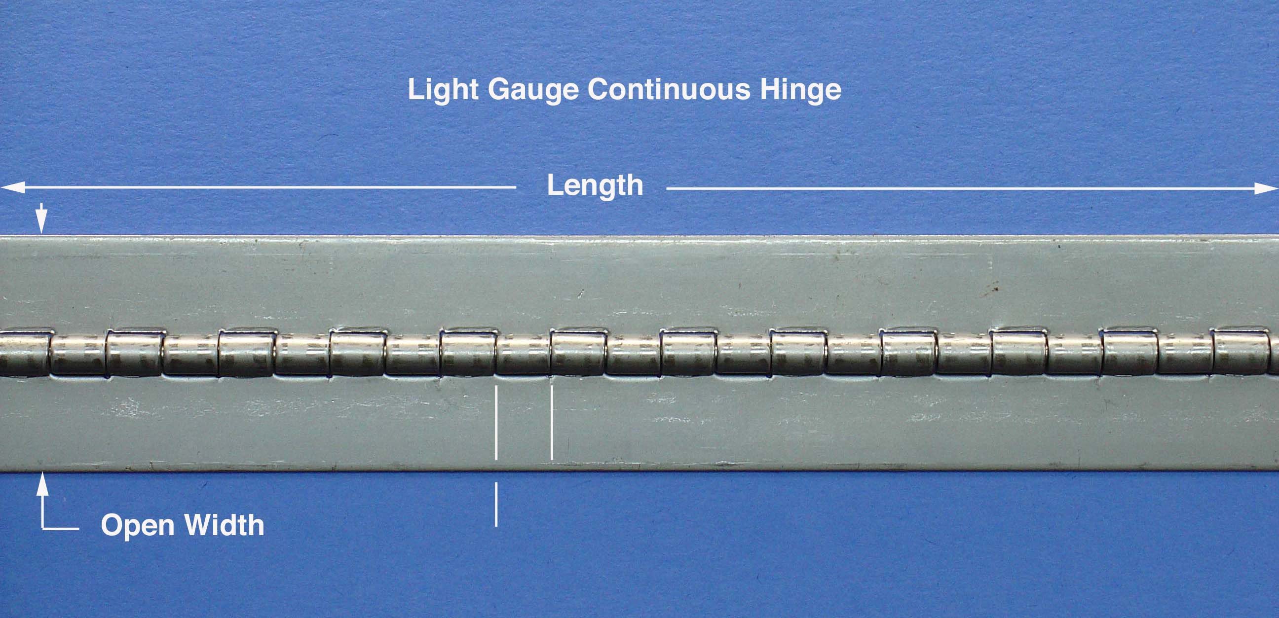 Continuous Hinges without Holes - Houston Hinge & Hardware Co.